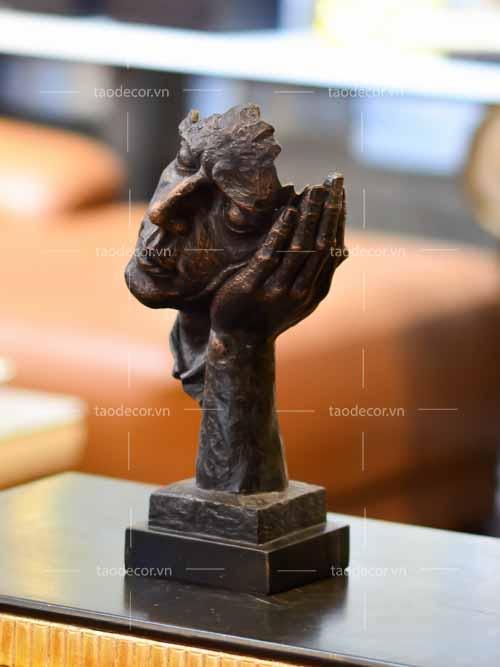 Bộ Tượng Không Nghe Không Nói Không Nhìn - taodecor.vn trang trí nhà và quà tặng 1