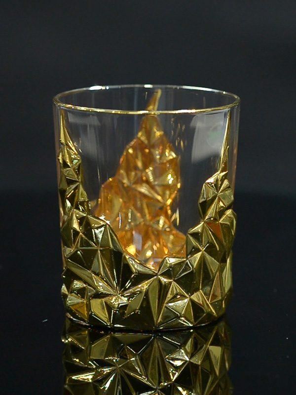 Bộ đựng rượu và ly Gold Power - Same Decorazion nhập khẩu chính hãng từ Italy1