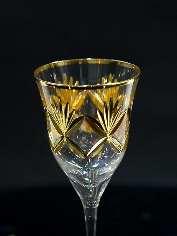 Bộ ly Delicacy Of Gold Leaf - Same Decorazion nhập khẩu chính hãng từ Italy 1
