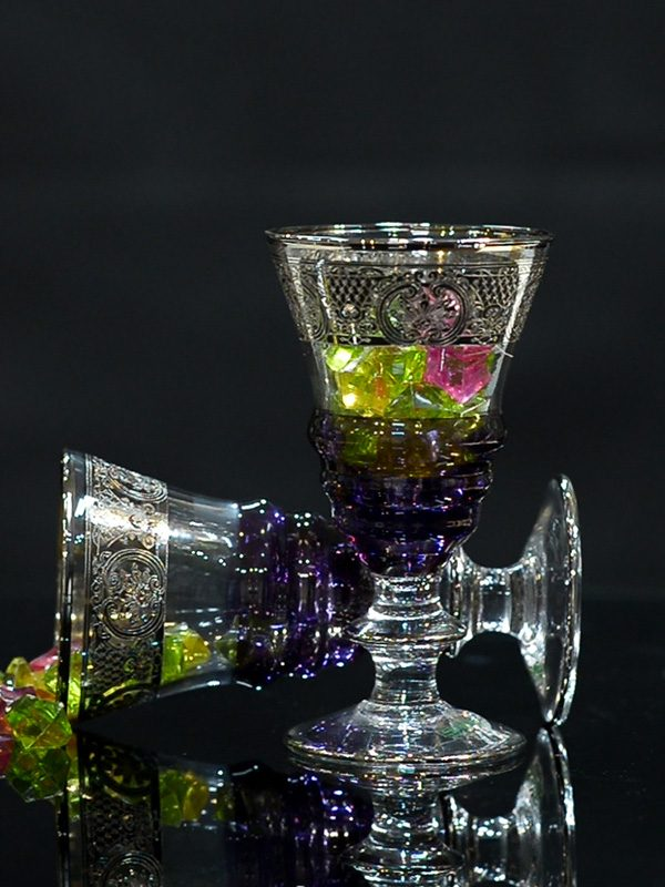 Bộ ly Platinum Glass of Poseidon - Same Decorazion nhập khẩu chính hãng từ Italy 1