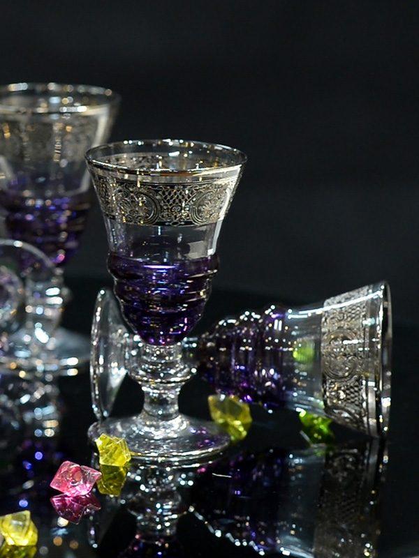 Bộ ly Platinum Glass of Poseidon - Same Decorazion nhập khẩu chính hãng từ Italy 4