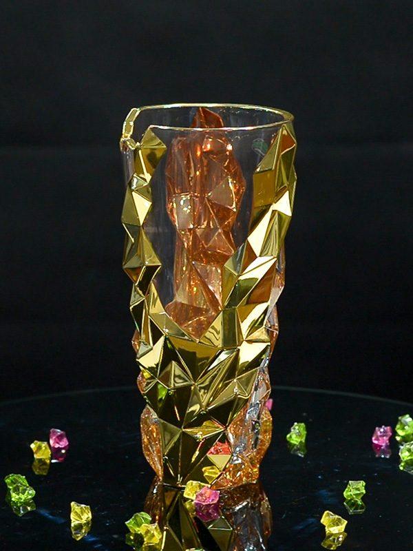 Lọ thủy tinh cắm hoa Cao cấp Golden Cliffs - Same Decorazion nhập khẩu chính hãng từ Italy 1