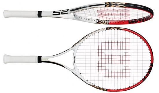 Tặng sếp vợt tennis để luyện tập thể dục thể thao