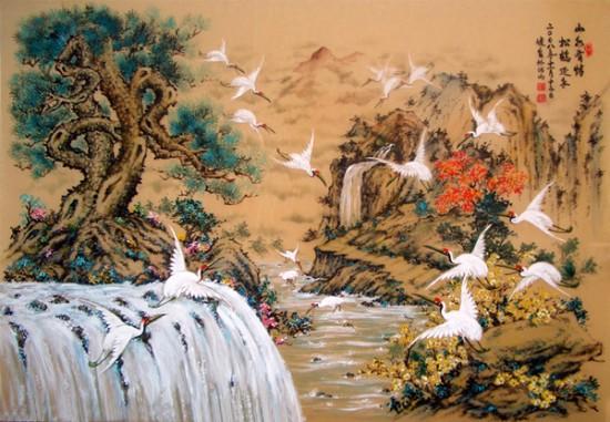 Bức tranh đẹp với ý nghĩa sâu sắc