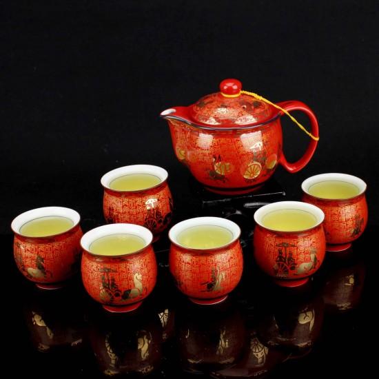Chọn mua quà gì biếu sếp ngày Tết với bộ ly trà đẹp