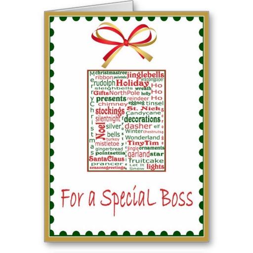 Đừng quên gửi kèm một tấm thiệp kèm quà tặng sếp