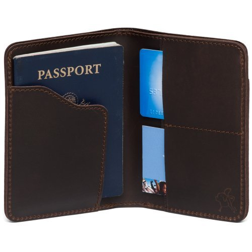 Quà tặng biếu sếp với bao da Passport