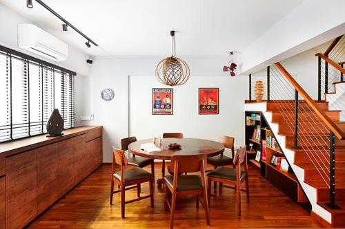 Lựa chọn một chiếc bàn ăn tròn gỗ phù hợp với không gian nhà bạn