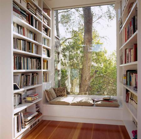 Một góc đọc sách