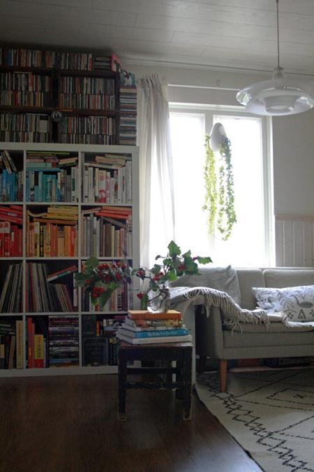 Khi chủ nhà quá nhiều sách