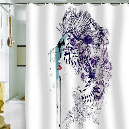 Rèm tắm độc đáo