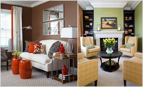 Trang trí nội thất dựa trên tone màu chủ đạo