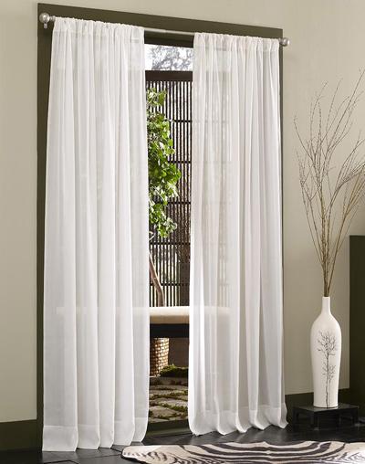 khu nghỉ ngơi nên để màu rèm cửa tối giản nhất